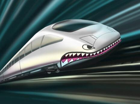 Artist: Lenin Delsol > Style: Hyper Color > Category: Concepts, Transportation