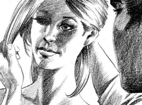 Artist: Lenin Delsol > Style: B&W Tone > Category: Women, Beauty