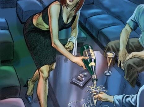 Artist: Lenin Delsol > Style: Color Noir > Category: Women, Lifestyle, Mood