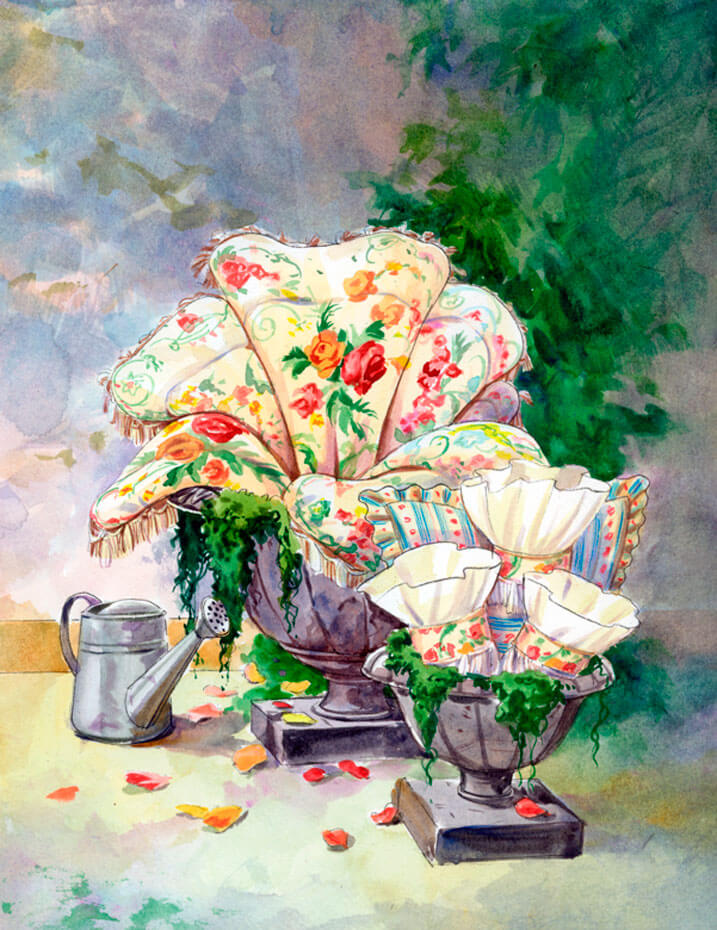 Artist: Lenin Delsol > Style: Watercolor > Category: Products